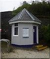 NG8133 : Waiting room, Duncraig station by Craig Wallace