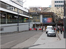 SP0786 : New tram line, Navigation Street, Birmingham by Chris Allen