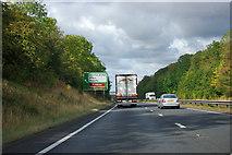 SK7273 : A1 northbound by Robin Webster