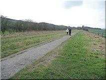SK0397 : A winter walk on the Longdendale Trail by Christine Johnstone