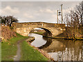 SD3710 : Leeds and Liverpool Canal, Hulme's Bridge by David Dixon