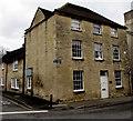 SP0202 : Corner of Dollar Street and Spitalgate Lane, Cirencester by Jaggery