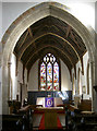 ST3451 : The altar, St Mary's by Neil Owen