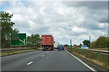 SK7074 : A1 northbound by Robin Webster