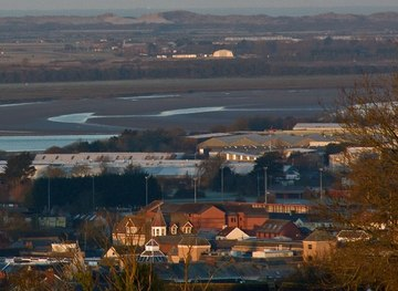 SS5533 : 63, High Street Barnstaple and beyond by Roger A Smith