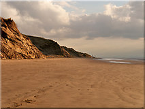 SD2707 : Sand Cliffs and Beach at Formby by David Dixon