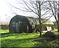 TF9015 : Nissen hut on Site 8 by Evelyn Simak