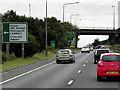 SE5013 : Southbound A1, Bridge at Barnsdale Bar by David Dixon