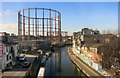 TQ3483 : Regents Canal from the train by Des Blenkinsopp