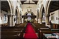 SK8261 : Interior, St John the Baptist church, Collingham by Julian P Guffogg