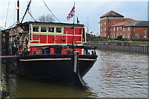 SK7954 : The Castle Barge, Newark on Trent by David Martin