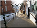 SK9771 : Steep Hill, Lincoln by Oliver Mills
