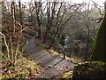 NS4276 : Path near Spardie Linn by Lairich Rig