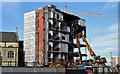 J3374 : The Orpheus Building (demolition), Belfast - February 2016(3) by Albert Bridge