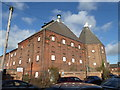 SK2422 : Former brewery and maltings - Burton-on-Trent by Chris Allen