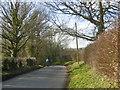 TQ6152 : A cyclist heads downhill by Marathon