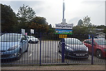 SU3468 : Car park, Hungerford Station by N Chadwick