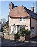 TL5646 : Cottage in Linton by M H Evans