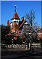 TQ2887 : Former fire station, Highgate by Julian Osley
