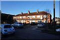 SE5851 : Two storey flats on Beech Avenue, York by Ian S