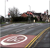 ST3091 : Junction of Almond Drive and Malpas Road, Newport by Jaggery