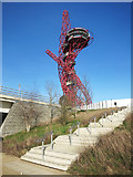 TQ3783 : Steps up to The Orbit by Des Blenkinsopp