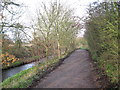 SP1394 : New Hall Valley beside the brook-Wylde Green, West Midlands by Martin Richard Phelan