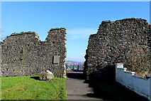 ST5393 : Porth Wall, Chepstow by Chris Heaton