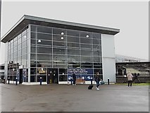 SK3635 : Eastern entrance to Derby railway station by Stephen Craven