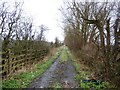 SE7208 : Private Track off Sandtoft Road by Jonathan Clitheroe
