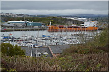 SX4953 : Mount Batten Marina by N Chadwick
