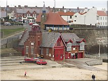 NZ3671 : Cullercoats Lifeboat Station by Graham Robson