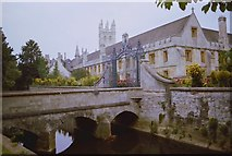 SP5206 : View of Magdalen College by Anthony O'Neil