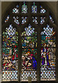 SK8262 : Stained glass window, All Saints' church, Collingham by Julian P Guffogg