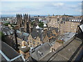 NT2573 : Edinburgh's Skyline from Castle Hill (1) by David Hillas