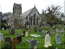 SX5548 : Holy Cross Church, Newton Ferrers by Chris Allen