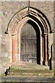 SO9265 : Doorway in Wychbold church by Philip Halling