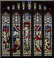 SK7755 : East window, St Wilfred's church, Kelham by Julian P Guffogg