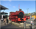 TQ3884 : Robert the Red Engine by Des Blenkinsopp
