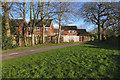 SU9858 : Walkway, Goldsworth Park by Alan Hunt