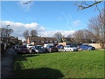 SE2434 : Warrels Court car park, Bramley by Stephen Craven