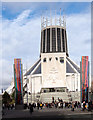 SJ3590 : Liverpool Metropolitan Cathedral - January 2016 (2) by The Carlisle Kid