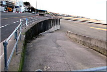 SH8479 : Slipway to the beach, Colwyn Bay by Jaggery