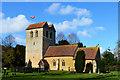 SU7791 : Church of St Bartholomew, Fingest, Buckinghamshire by Oswald Bertram