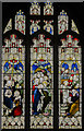 TA0339 : Stained glass window s.XIV, St Mary's church, Beverley by Julian P Guffogg