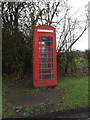 TM3067 : Telephone Box off Low Street by Adrian Cable