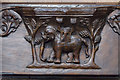 TA0339 : Misericord S5, St Mary's church, Beverley by Julian P Guffogg