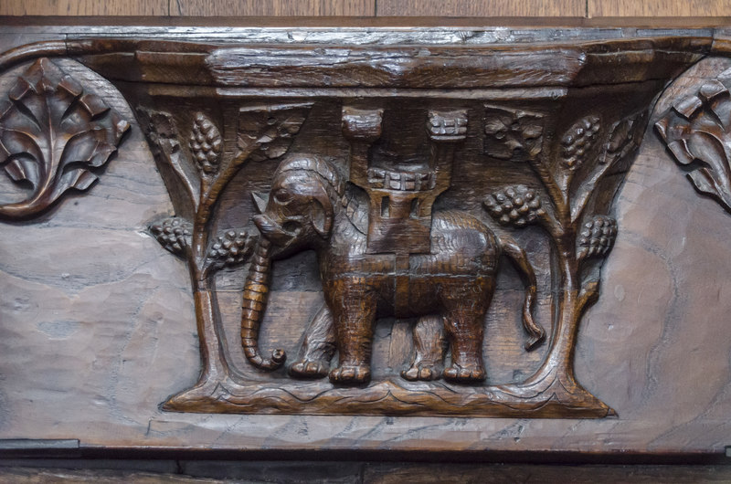 Misericord S5, St Mary's church, Beverley