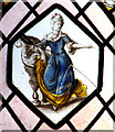 TG1602 : Rare Dutch glass at Ketteringham Hall by Evelyn Simak