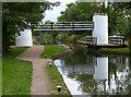 SK1900 : Drayton Manor Bridges on the Birmingham & Fazeley Canal by Mat Fascione